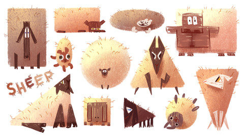 Sheep Shapes
