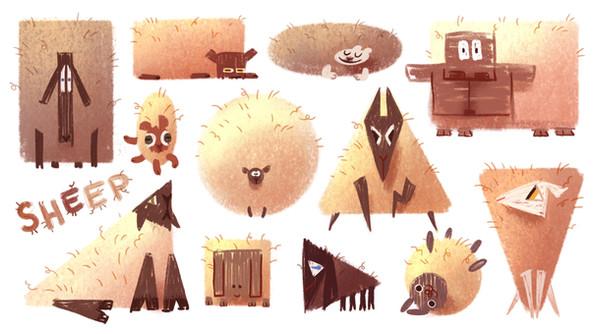 Sheep Shapes