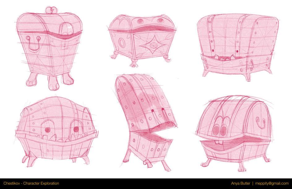 Chestikov - Sketches