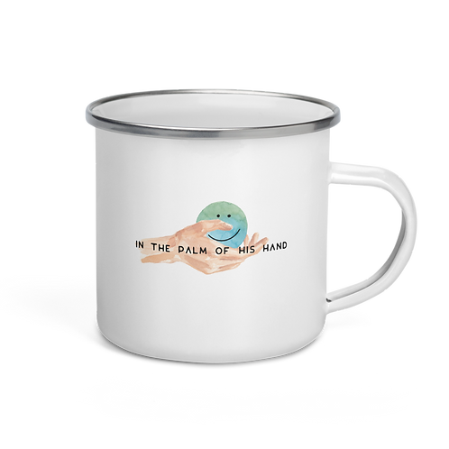 (Camper Mug) Palm of His Hand
