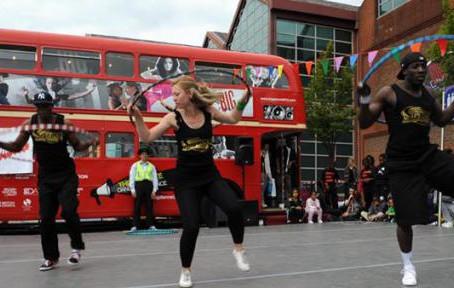 Stompin' at the Big Dance Bus!