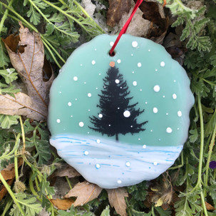 Snowfall ornament no. 20