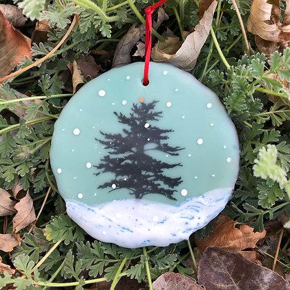 Snowfall ornament #8