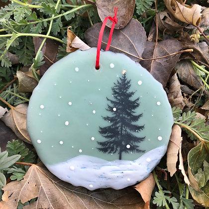 Snowfall ornament #4