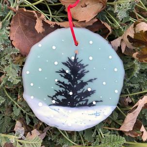 Snowfall ornament no. 13