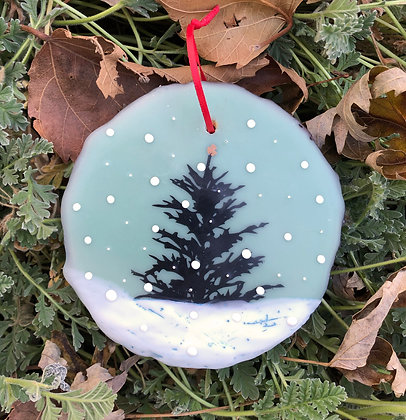 Snowfall ornament #13
