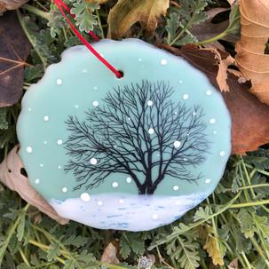 Snowfall ornament no. 10