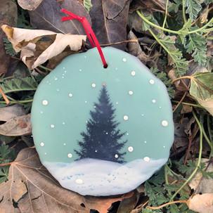 Snowfall ornament no. 1