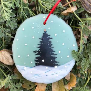 Snowfall ornament no.