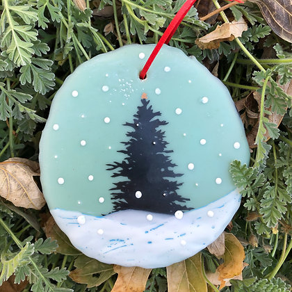 Snowfall ornament #11
