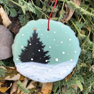 Snowfall ornament no. 14