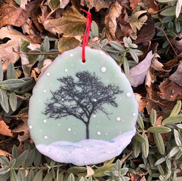 Snowfall ornament no. 2