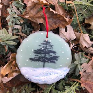 Snowfall ornament no. 5