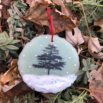 Snowfall ornament #5