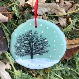Snowfall ornament no. 16