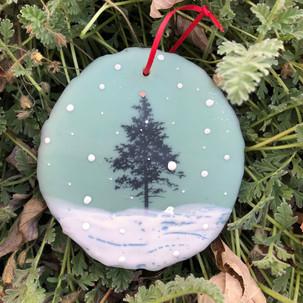 Snowfall ornament no. 9