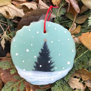 Snowfall ornament no. 15