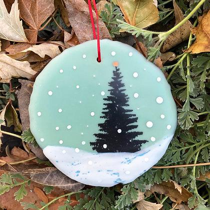 Snowfall ornament #12