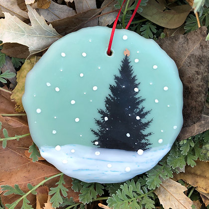 Snowfall ornament #18