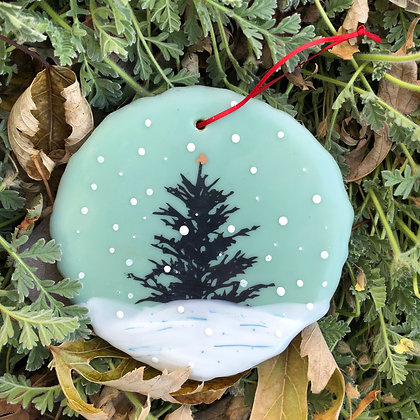 Snowfall ornament #17