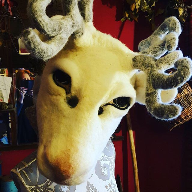 #reindeer #mask #cosplay #dance #costume