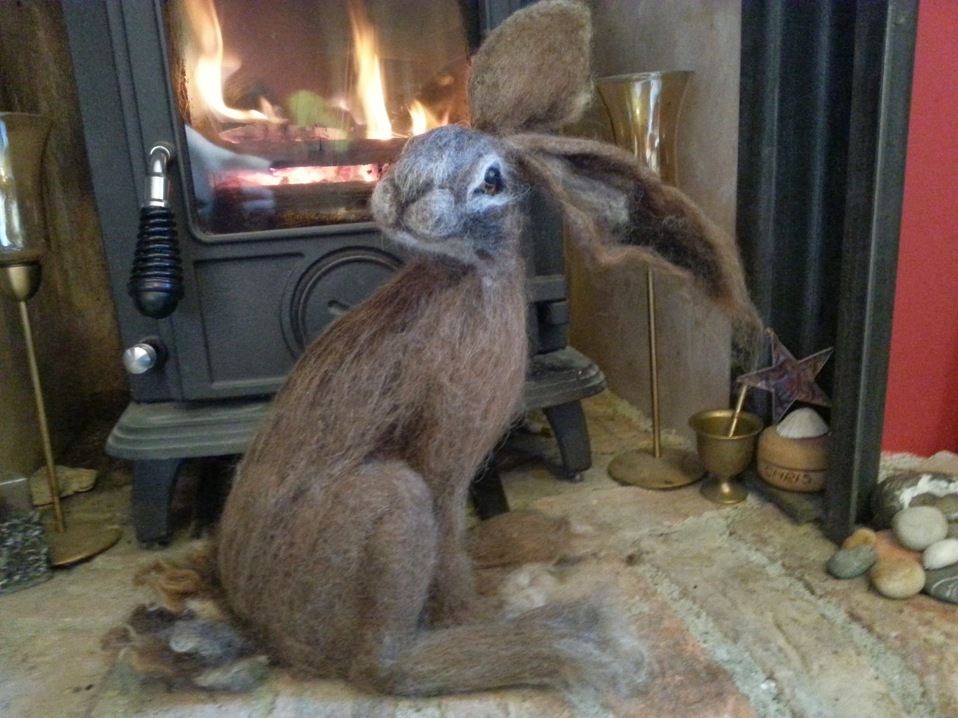And the hare