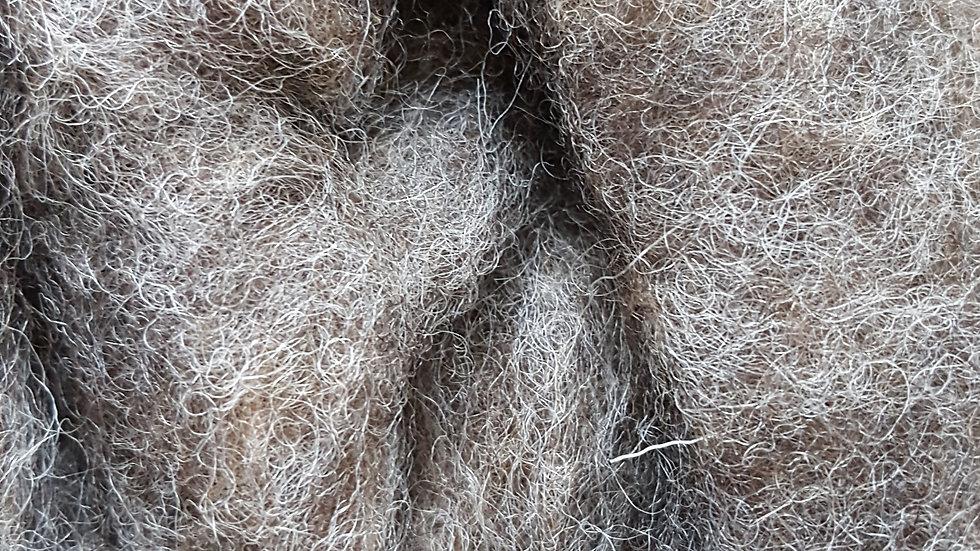 Naural Brown/Grey Core Wool 200g