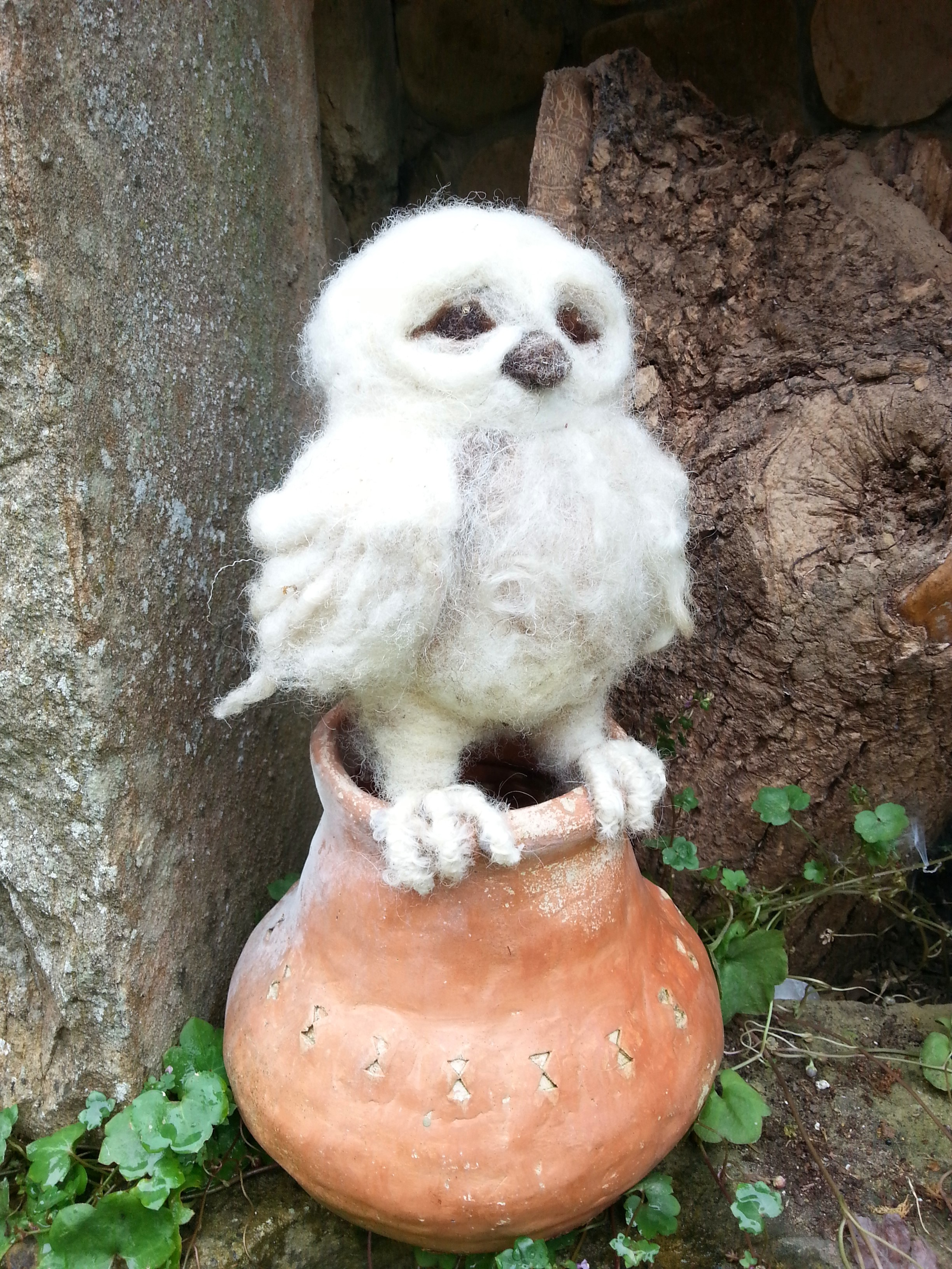 Owlette on Pot