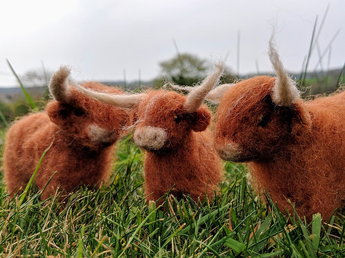 Mini Highland Cow Kit