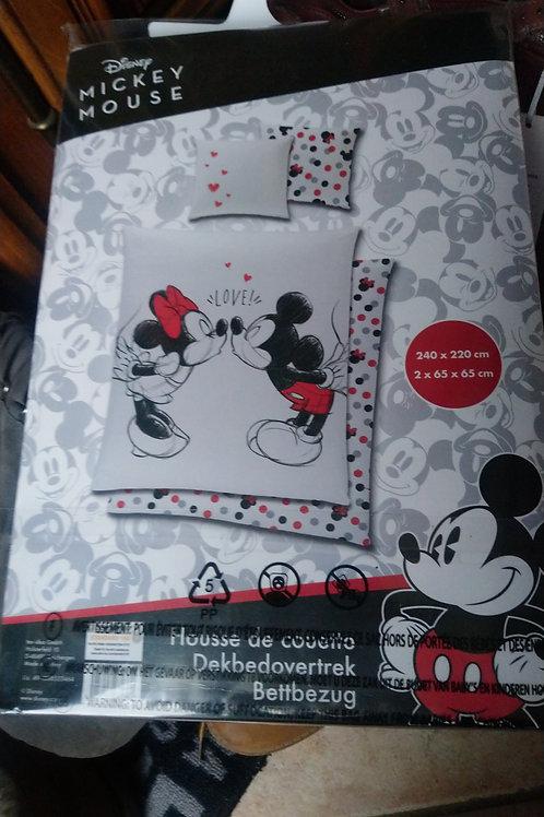 Housse de couette Mickey et Minnie