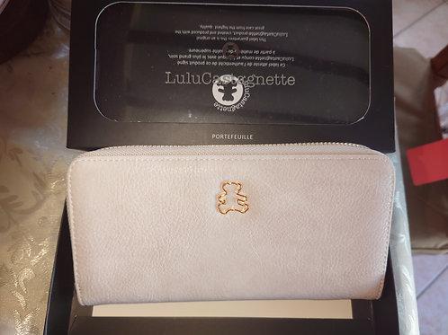Porte monnaie Lulu blanc