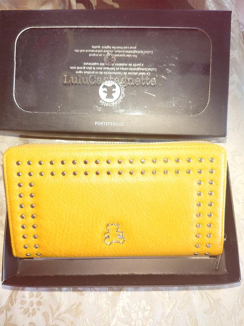 Porte monnaie Lulu moutarde