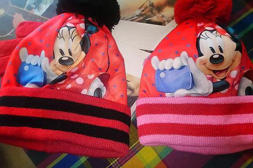 Bonnet+gants Minnie