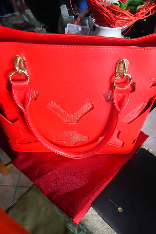 Sac double rouge sang