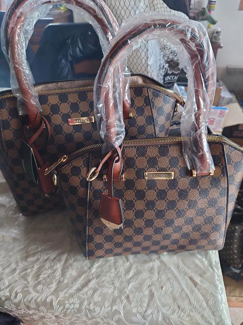 Double sac Torrente marron/noir