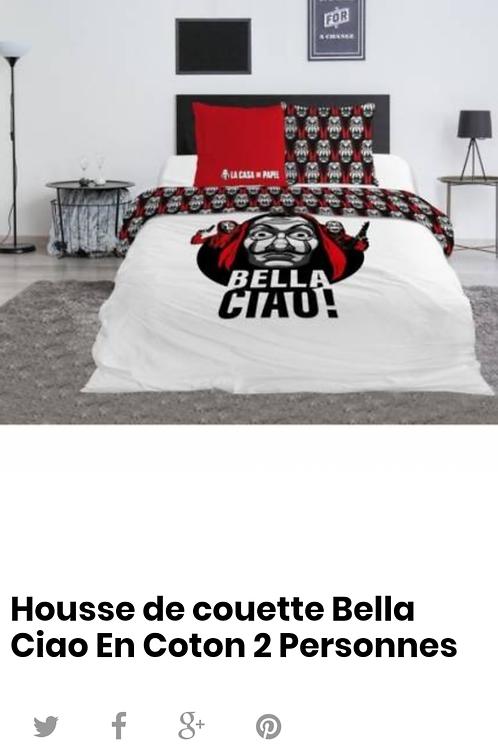 Housse de couette Bella Ciao