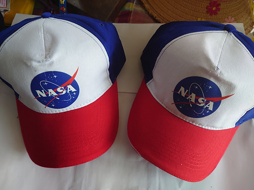 Casquettes NASA ROUGE