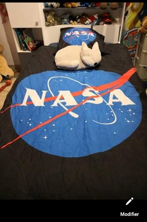 Housse de couette NASA