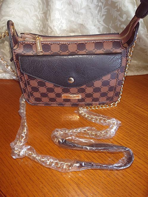 Petit sac Torrente noir/marron