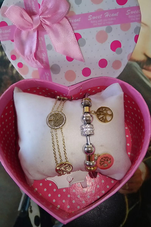 Coffret 2 bracelets