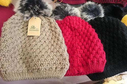 bonnets doublés polaire