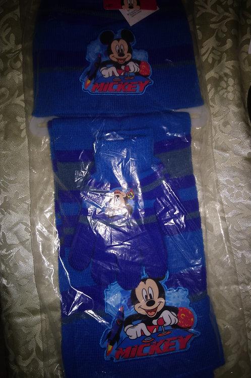 Ensemble Mickey bleu