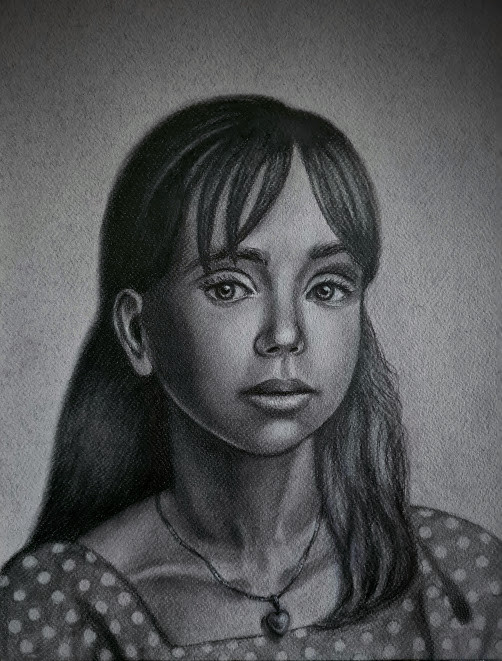 klassisk portrett, klassisk tegning, klassisk figurativ kunst, akademisk tegning, klassiske tegninger