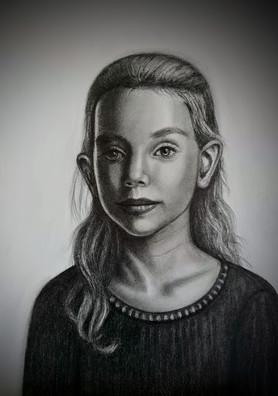 klassisk tegning, klassisk figurativ kunst, klassiske tegninger, klassisk portrett,
