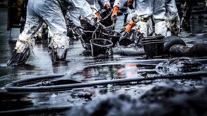 oil spill waste management