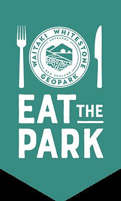 Logo eat the park green