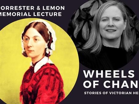 15.11.19 Wheel of Change - Stories of Victorian Heroines