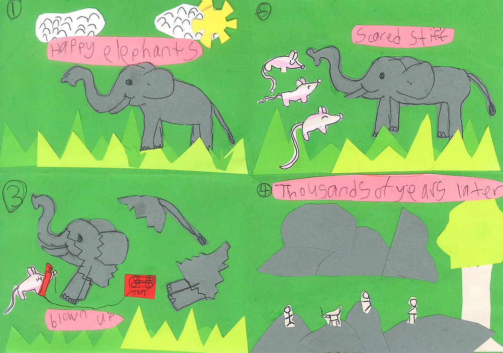 Story about elephants and mouse