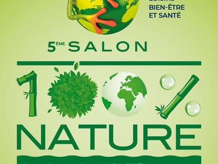 Venez rencontrer l'école de Sophrologie Aix-Marseille sur le Salon 100% Nature aux halles de MAR