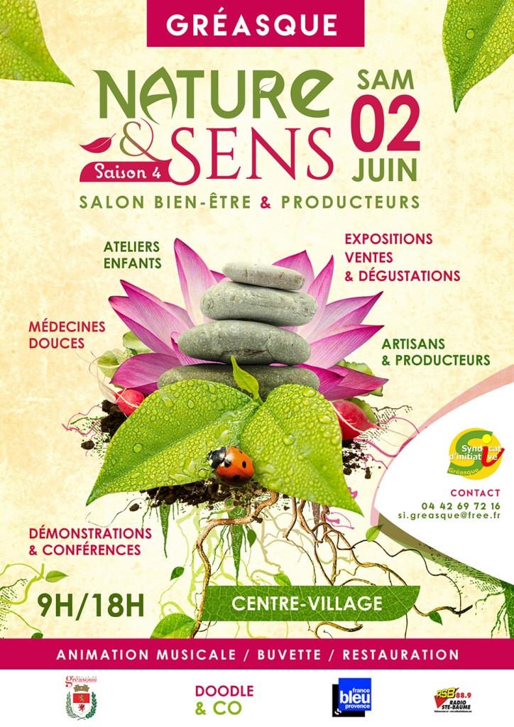Ecole de Sophrologie Aix-Marseille au salon de Nature & Sens à Gréasque